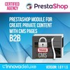Private CMS (Section CMS Private) B2B Module