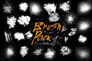 22-splatter-brushes-pack