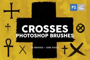 25-crosses-photoshop-stamp-brushes-3