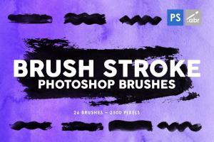 26-brush-stroke-photoshop-brushes-1