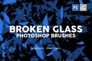 30-broken-glass-photoshop-stamp-brushes-vol-1-2