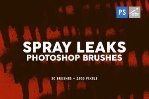 30-spray-leaks-photoshop-stamp-brushes-2