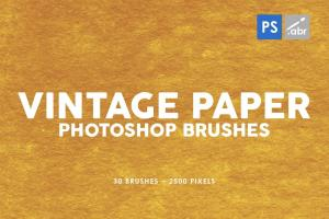 30-vintage-paper-photoshop-stamp-brushes-vol-3-3