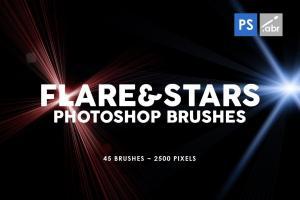 45-lens-flare-stars-photoshop-stamp-brushes-1