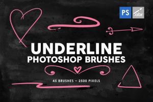 45-underline-photoshop-stamp-brushes-vol-2-2