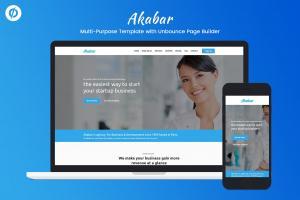 akabar-multi-purpose-unbounce-landing-page