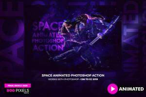 animated-space-photoshop-action