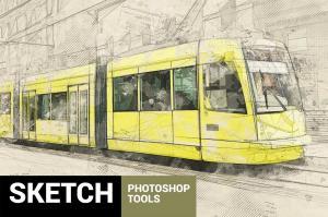 architectum-2-sketch-tools-photoshop-action2
