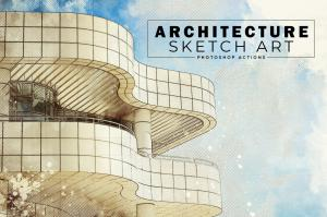 architecture-sketch-art-ps-actions-4