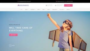 assurance-insurance-psd-template-1