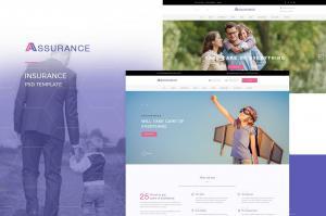 assurance-insurance-psd-template-22
