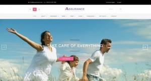 assurance-insurance-psd-template-44