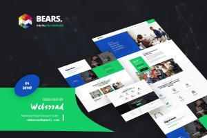 bears-digital-psd-template