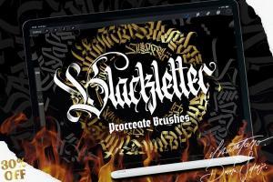 blackletter-brush-for-procreate-1