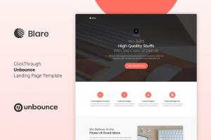 blare-unbounce-landing-page-template