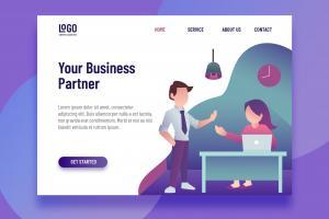 business-partner-landing-page