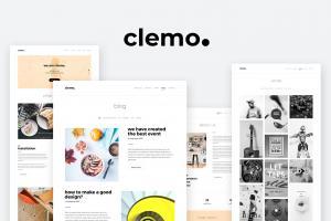 clemo-multipurpose-psd-template