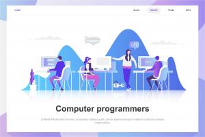 computer-programmers-flat-concept