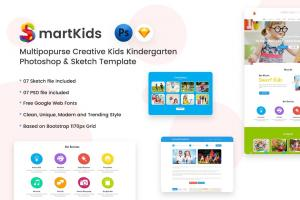 creative-kids-kindergarten-psd-sketch-template-1