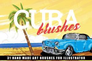 cuba-illustrator-brushes