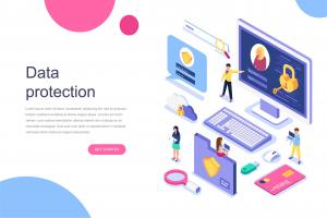 data-protection-isometric-concept