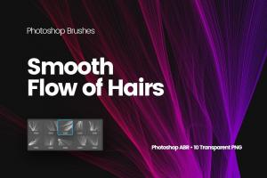 digital-smooth-flow-of-hairs-photoshop-brushes-3