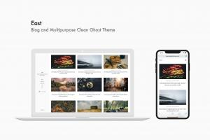 east-blog-and-multipurpose-clean-ghost-theme