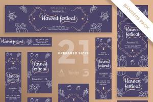 harvest-festival-social-media-pack-template-1