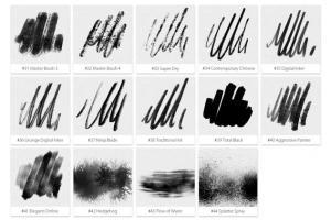 inktober-2019-photoshop-brushes-23