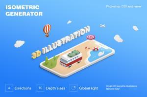 isometric-illustration-3d-generator-2