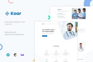 kear-medical-healthcare-unbounce-landing-page