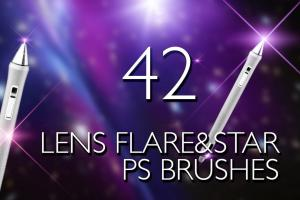 lens-flare-stars-photoshop-brushes-1