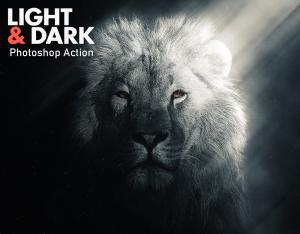 light-dark-photoshop-actions