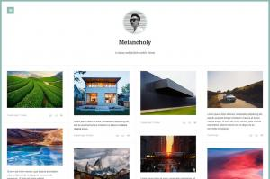 melancholy-minimalistic-fullscreen-theme