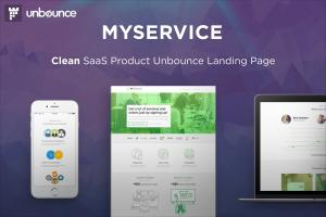 myservice-saas-product-unbounce-landing-page