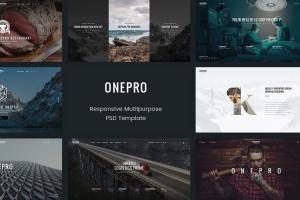 onepro-creative-multipurpose-psd-template