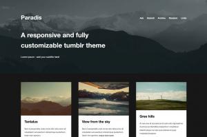 paradis-a-minimalistic-grid-theme