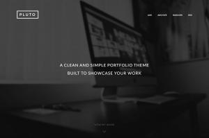 pluto-modern-portfolio-theme