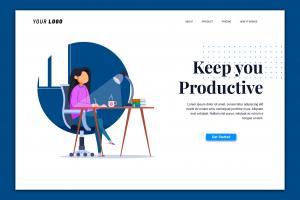 productive-landing-page