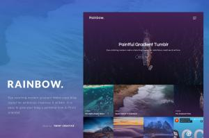 rainbow-gradient-grid-tumblr-theme