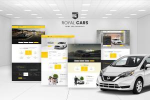 royal-cars-rent-car-psd-template-1