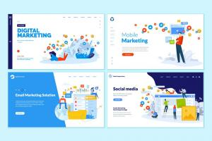 set-of-web-design-templates
