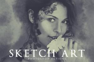 sketch-art-photoshop-actions-1
