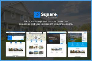 square-professional-real-estate-psd-templates