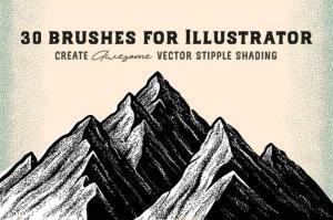 stipple-brush-set-for-photoshop-and-illustrator-44